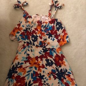Parker floral dress size S
